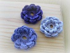 Easy Crochet Flower Pattern Crochet And Other Stuff Crochet A Flower Accent Free Pattern