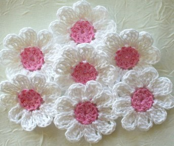 Easy Crochet Flower Pattern Crochet Flower Pattern Free Easy Step Step