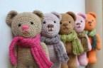Easy Crochet Teddy Bear Pattern 70 Crochet Teddy Bear Patterns The Funky Stitch