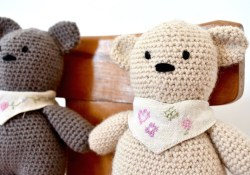 Easy Crochet Teddy Bear Pattern How To Crochet A Basic Teddy Bear Amigurumi Bear Buttons Binky