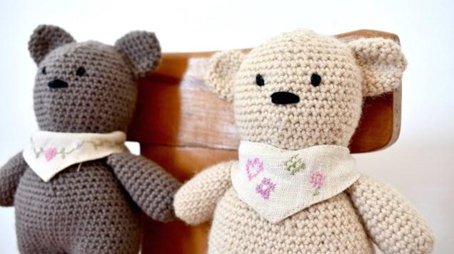 Easy Crochet Teddy Bear Pattern How To Crochet A Basic Teddy Bear Amigurumi Bear Buttons Binky