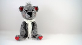 Easy Crochet Teddy Bear Pattern How To Crochet A Teddy Bear Left Handed Video 1 Youtube