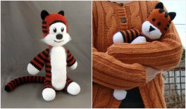 Free Crochet Animal Patterns Crochet Amigurumi Hobbes Free Pattern Your Crochet