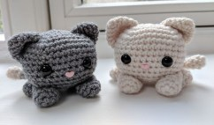 Free Crochet Animal Patterns Cube Kitty Cat Amigurumi Free Crochet Pattern Your Crochet