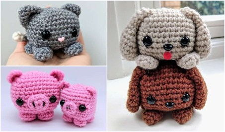 Free Crochet Animal Patterns Easy Cube Animals Free Crochet Pattern Your Crochet