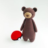 Free Crochet Animal Patterns Free Pokeball Crochet Amigurumi Pattern Little Bear Crochets