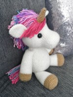 Free Crochet Animal Patterns Jazzy The Unicorn Free Amigurumi Pattern Jess Huff