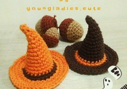 Free Halloween Crochet Patterns Free Halloween Crochet Pattern For A Witch Hat Halloween Fun