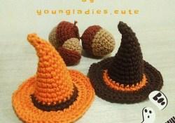 Free Halloween Crochet Patterns Free Halloween Crochet Pattern For A Witch Hat Halloween Fun