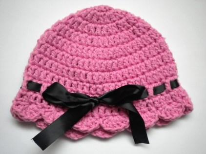 Newborn Crochet Hat Pattern Annavirginia Fashion Ba Flapper Girl Hat Pattern