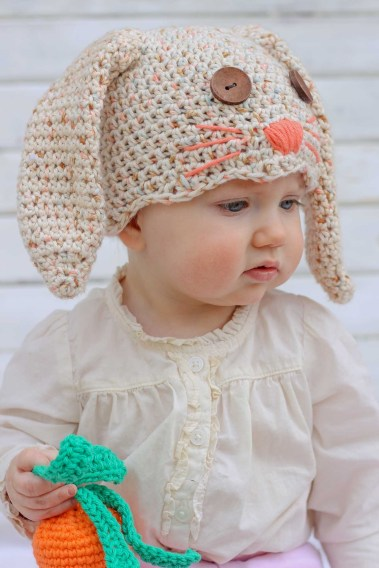 Newborn Crochet Hat Pattern Free Crochet Bunny Hat Pattern Newborn Toddler Make Do Crew