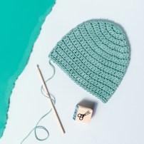 Newborn Crochet Hat Pattern How To Crochet A Ba Hat Step Step