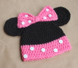 Newborn Crochet Hat Pattern Mickey And Minnie Mouse Crochet Hat Pattern Repeat Crafter Me