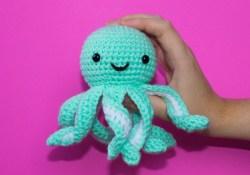 Octopus Crochet Pattern Free Crochet Pattern For Mini Octopus Thefriendlyredfox