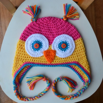 Owl Hat Crochet Pattern Crochet In Color Another Owl Hat