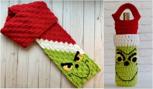 Scarf Crochet Patterns Grinch C2c Scarf And Wine Cozy Free Crochet Patterns Your Crochet