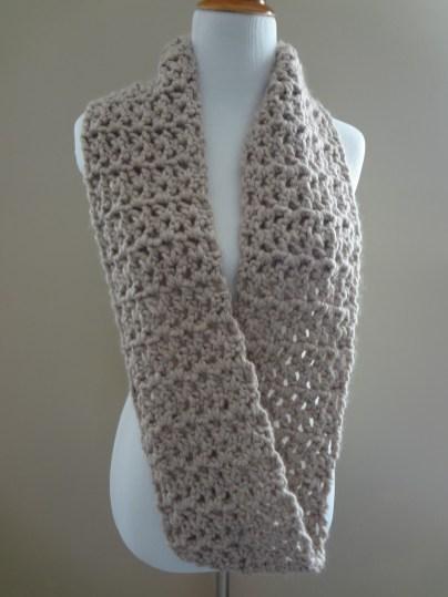 Scarf Crochet Patterns Infinity Scarf Crochet Pattern 1000lives