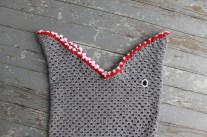 Shark Socks Crochet Pattern The Feisty Redhead Carsons Crochet Shark Blanket