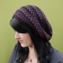 9aeb028b5e3 Slouchy Hat Crochet Pattern Heartbeat Slouchy Hat Crochet Pattern