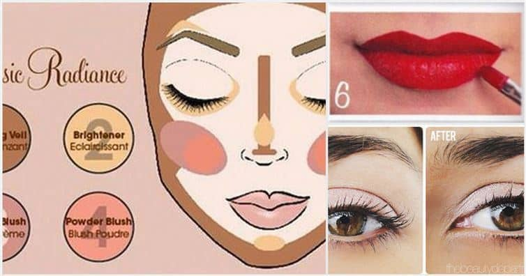 11 Beauty Charts That Will Teach You How To Do Your Makeup
