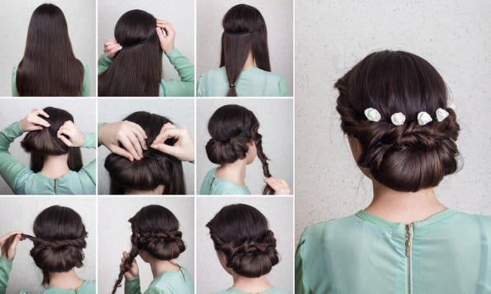 12 easy bun hairstyles