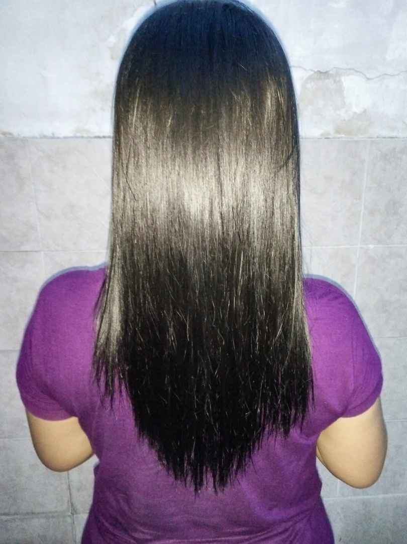 Hair mask to straighten your hair