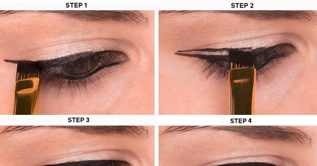 Step By Step Winged Eyeliner Tutorial