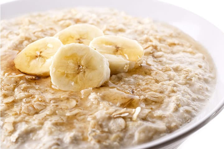Image result for oatmeal with banana paste