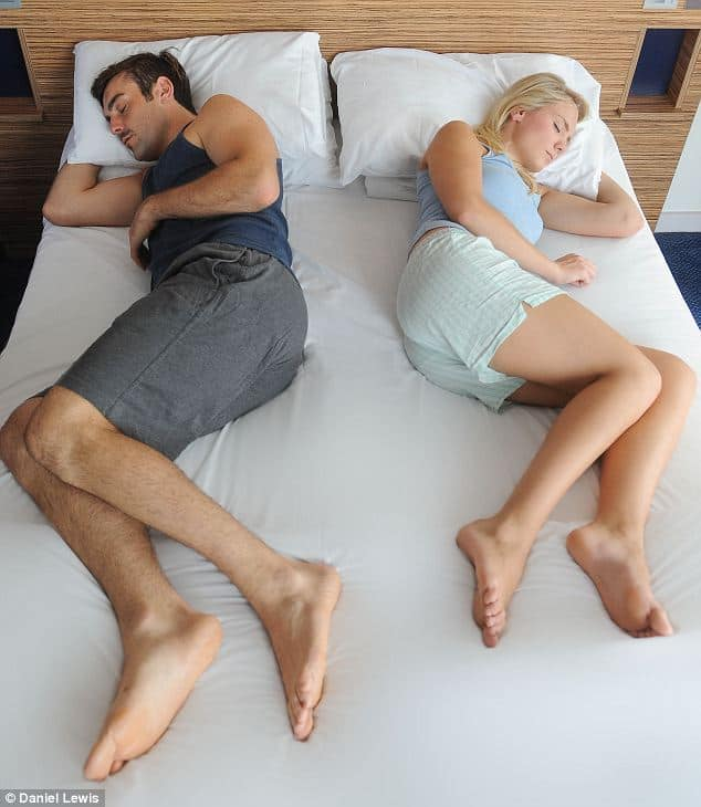 The way you sleep reveals your relationship