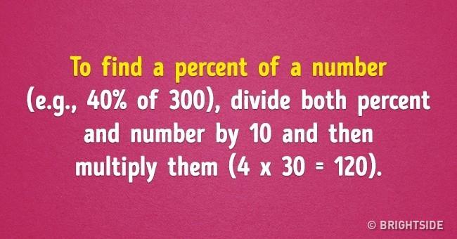 Simple math hacks