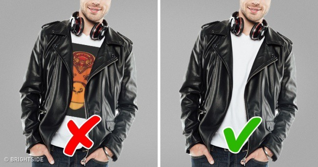 Men's clothing mistakes