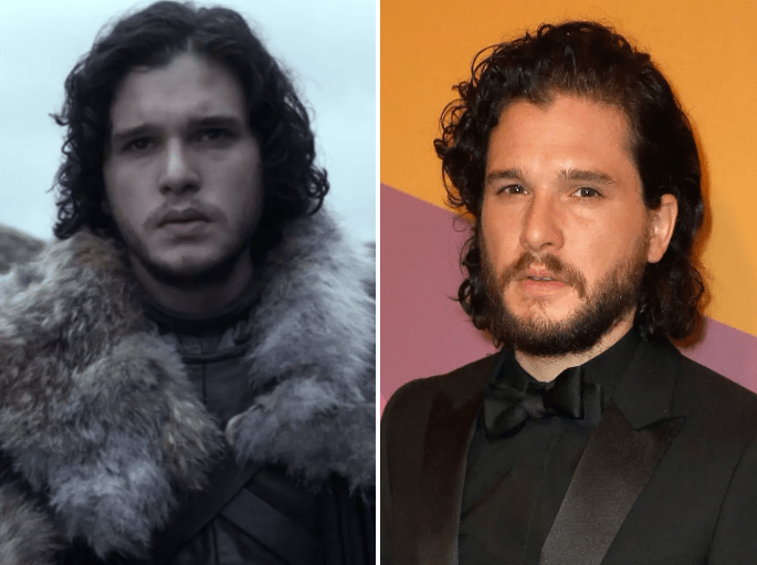 "The ""Game of Thrones"" Cast in 2011 vs Now."