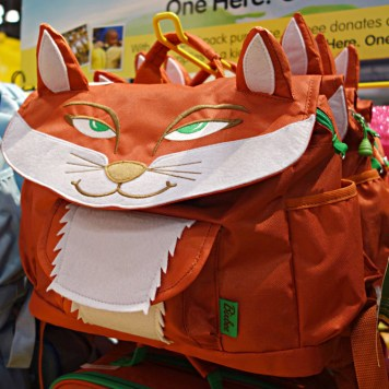 Bixbee's fox backpack