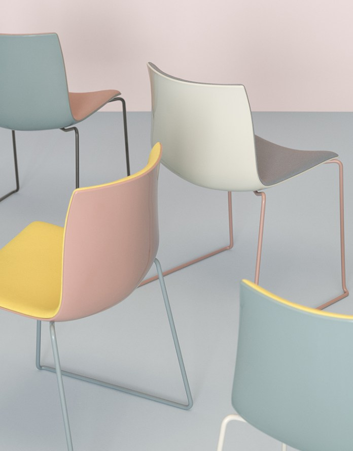 Arper's Catifa 46 chairs is available in new colors