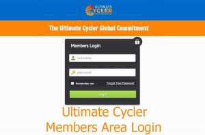 Ultimate Cycler Login – Members Area Login