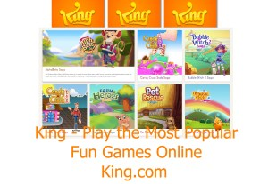 King – Play the Most Popular | Fun Games Online | King.com