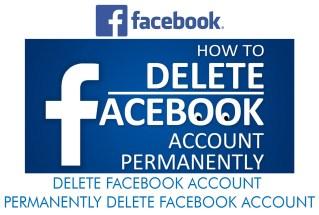 Delete Facebook - Permanently Delete Facebook Account
