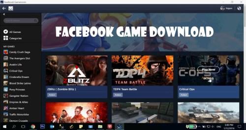 Facebook Game Download - Facebook Gameroom