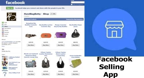 Facebook Selling App - Selling on Facebook