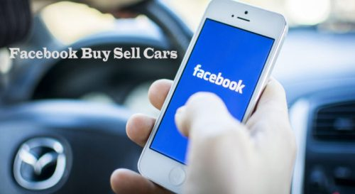 Facebook Buy Sell Cars - How to Sell a Car on Facebook