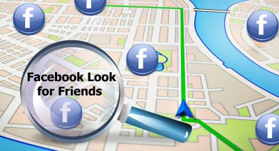 Facebook Look for Friends - Facebook Find Friends Nearby