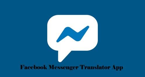 Facebook Messenger Translator App