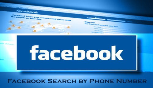 Facebook Search by Phone Number - How Search Facebook by Phone Number