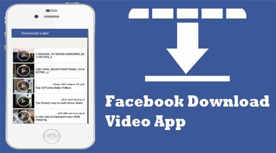 Facebook Download Video App
