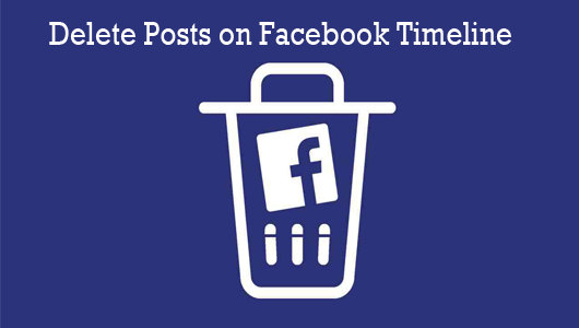 Delete Posts On Facebook Timeline