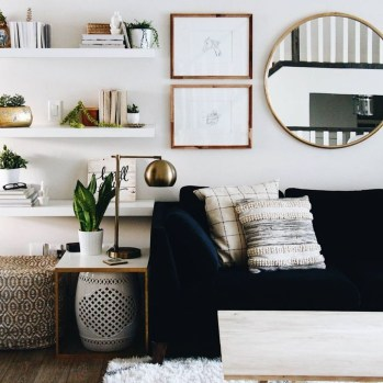 A Beautiful All White Apartment In Modern Style 33