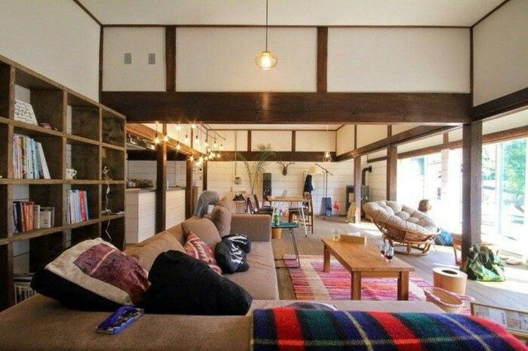 Apartment With Artistic Japanese Style Design 09