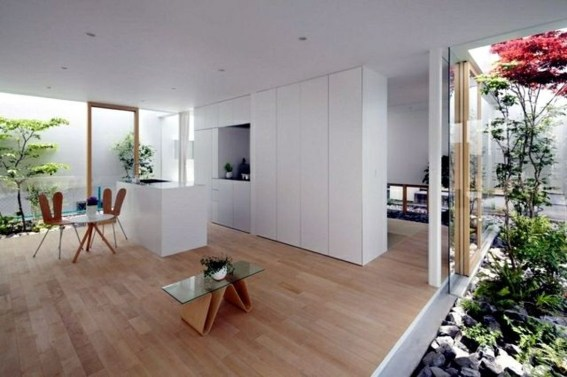 Apartment With Artistic Japanese Style Design 41