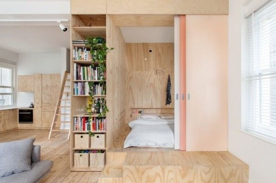 Apartment With Artistic Japanese Style Design 42
