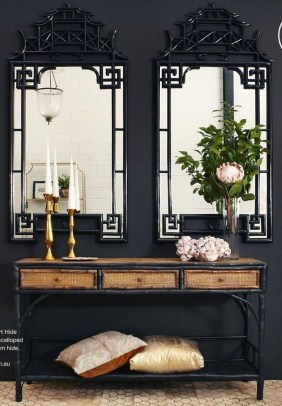 Best Living Room Ideas With Black Walls 06